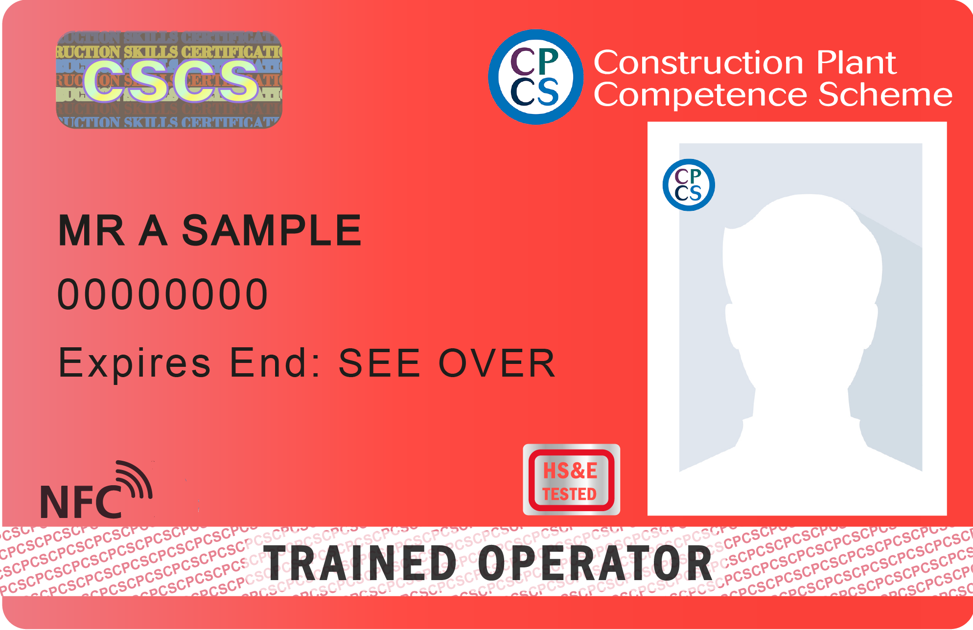 CSCS Trained Operator
