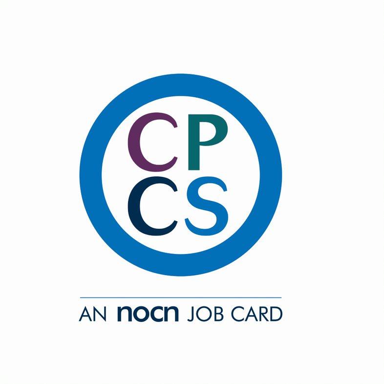 image shows CPCS card logo