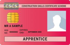 CSCS Red Apprentice Card
