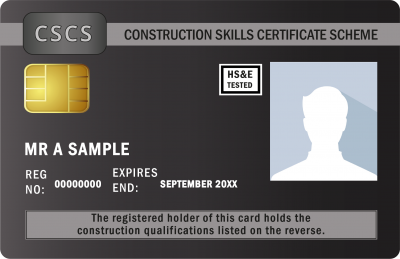 Black Managers Card CSCS