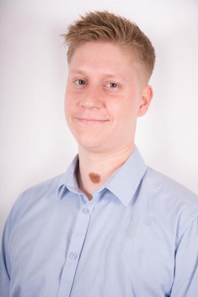 Photo shows Dane Thurnham of Essential Site Plant Ltd and Essential Site Skills Ltd