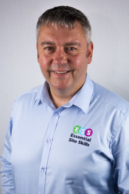 Photograph shows Senior Training & Consultancy Manager, John Wright from Essential Site Skills, a Leading Health and Safety and Construction Training Course Provider