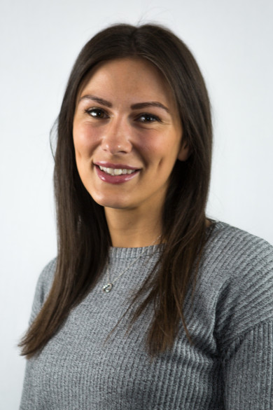 Photograph shows Konny Papadopulou, Project Manager at Leading Health and Safety Course Provider Essential Site Skills