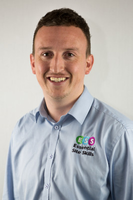 Photograph shows Liam Moore, Enrolment Officer at Leading Health and Safety Course Provider Essential Site Skills