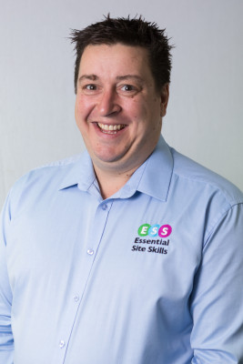 Photograph shows Michael Richardson, Funding Manager at Leading Health and Safety Course Provider Essential Site Skills