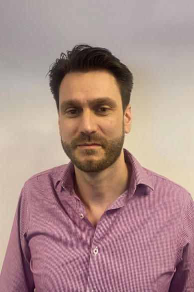 Photograph shows Iain Ray, Sales Manager for Essential Site Skills, an Award Winning Training Provider