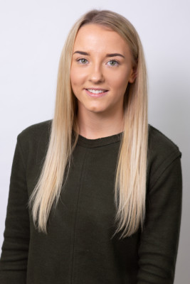 Photograph shows Jodie Bamforth, Business Admin Apprentice at Leading Health and Safety Course Provider Essential Site Skills