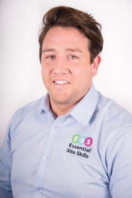 Photo show Jordan Price of Essential Site Skills Ltd