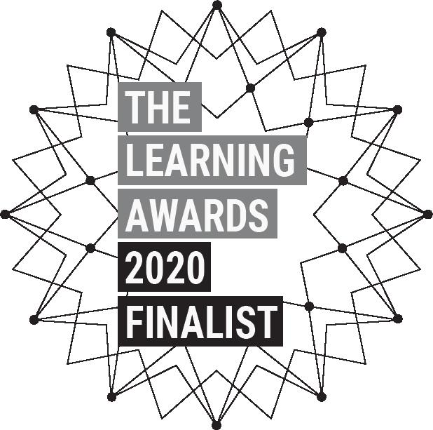 Learning awards finalist
