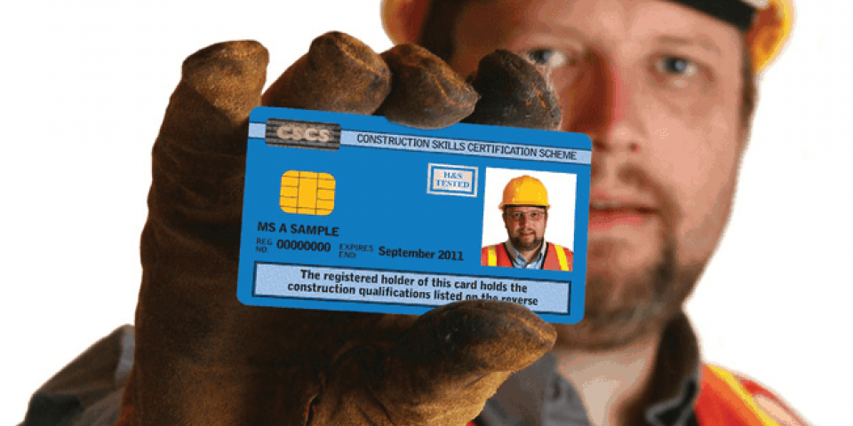 Make Sure You Have the Right CSCS Card