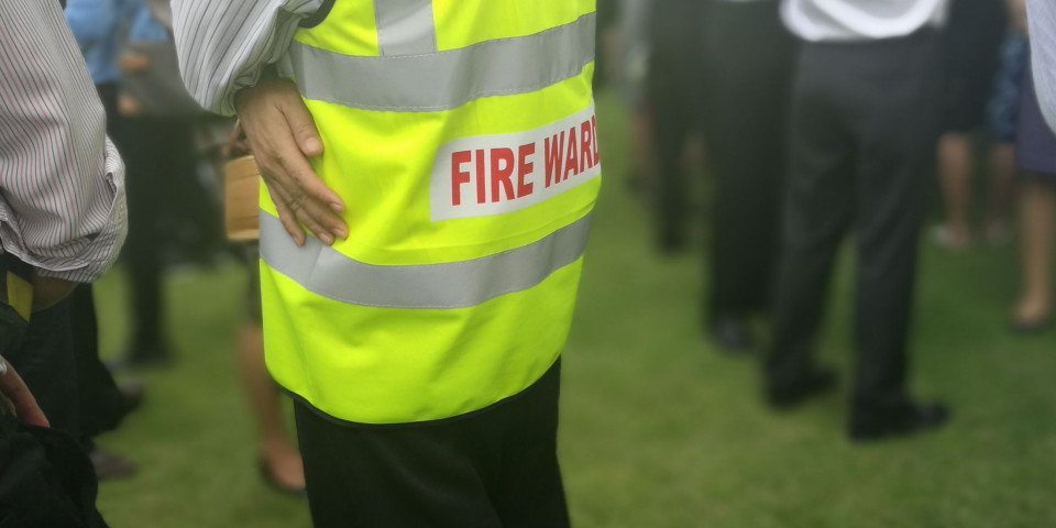 Who is responsible for fire safety at your workplace?
